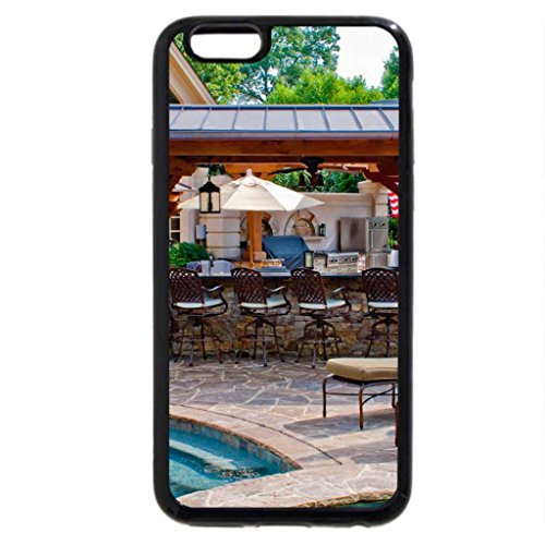 iPhone 6S / iPhone 6 Case (Black) Summer patio