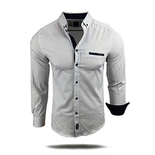 Avroni -  Camicia Casual  - Uomo Giallo