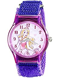 Disney Kids' W001703 Sleeping Beauty Analog Display Analog Quartz Purple Watch