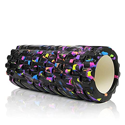PROCIRCLE Foam Roller for Muscle Massage - Galaxy - 33cm High Density Exercise Roller & Massage Roller - Deep Tissue Massage Tool for Physical Therapy, Myofascial Release