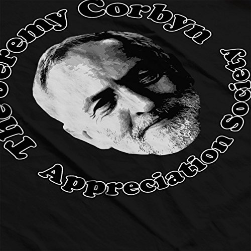 The Jeremy Corbyn Appreciation Society Women's T-Shirt Black