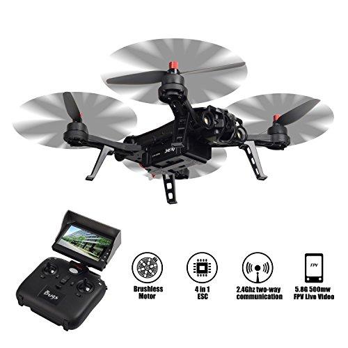 TIME4DEALS MJX B6 Bug 6 1600mkv Brushless Motor Racing Drone Quadcopter, FPV...