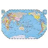 YUBAIBA Mappa del Mondo Puzzle, Puzzle in Legno, Romantico di Bellezza, di decompressione for Adulti, Giocattoli educativi, Regali creativi for Bambini, 1000 Pezzi