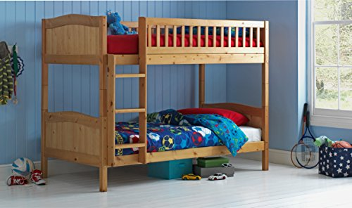 Bunk Bed Wood Frame in PINE 3ft Rosa