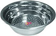 RAJ Stainless Steel Steamer Pots 1Pieces- Grey