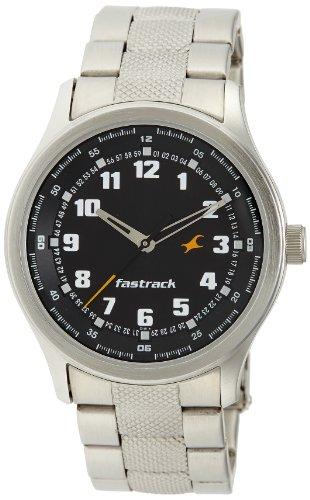 Fastrack Essentials Analog Black Dial Men's Watch - NE3001SM01 image