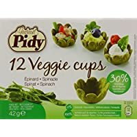 Pidy Veggie Cups Spinach - Pack of 2