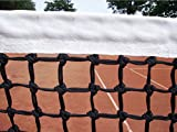 Tennisnetz Doppelreihe mit Spannseil Unten