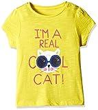 #6: Mothercare Baby Girls' T-Shirt (H9351_Yellow_12-18 M)