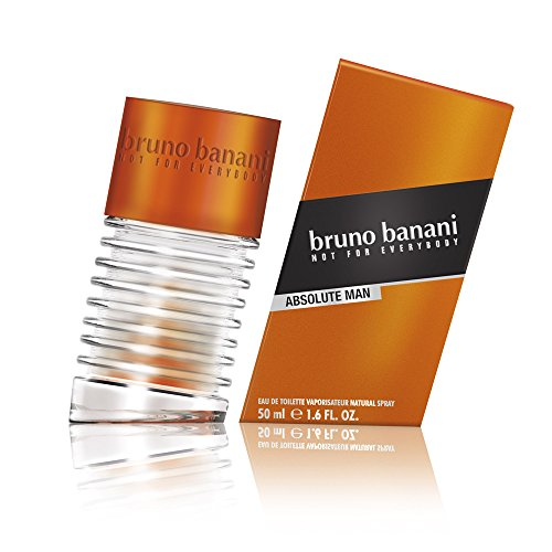 bruno banani Absolute Man Eau de Toilette Natural Spray, 1er Pack (1 x 50 ml)