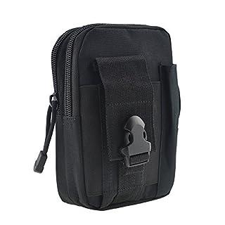 ASIV Taktische Hüfttaschen Molle Tasche, 1000D Nylon Multifunktional Militär Gürteltasche Praktische Ausrüstung für Outdoor Sport Camping Wandern Radfahren Klettern und Reisen