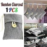 TAOtTAO Bamboo Charcoal Bag 1 stücke Tasche Auto Bambuskohle Aktivkohle Lufterfrischer Geruch Deodorant Neu