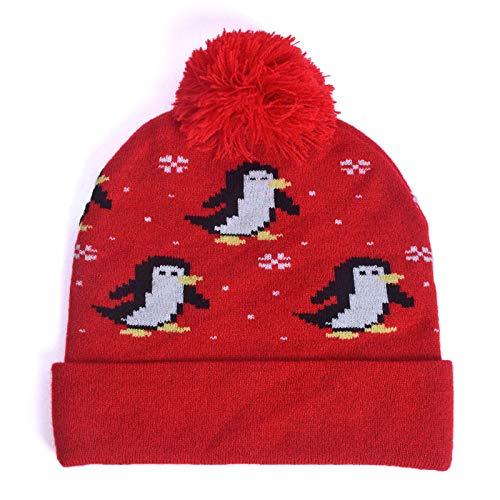 ERQINGM Sombrero De Punto para Mujer Sombrero De Punto Beanie Otoño  Invierno Sombreros Mujeres para Damas f6957022534
