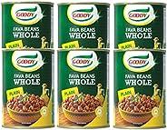Goody Fava Beans (Foul Medammes), 6 x 450 gm