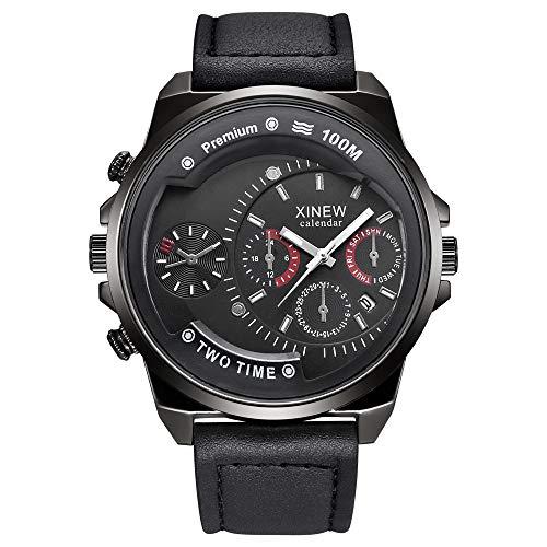 Neue Herrenuhr Casual Belt Quartz Watch Herren Sportgeschenkuhr Herren Masculino Reloj Hombre
