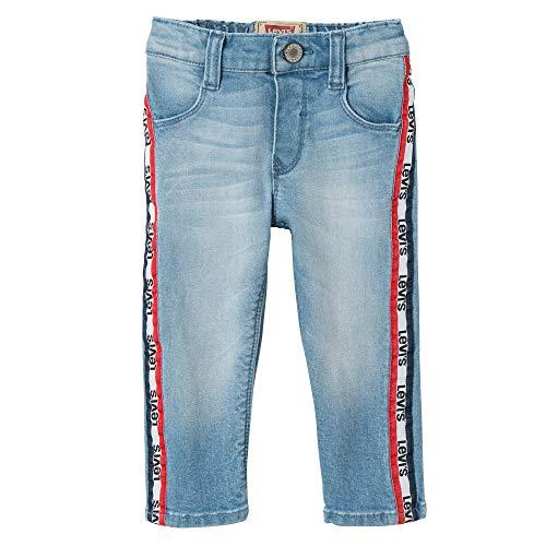 Levi's kids nn22534 46 trousers jeans bimba, blu (indigo), 1-3 mesi (taglia produttore: 3m)
