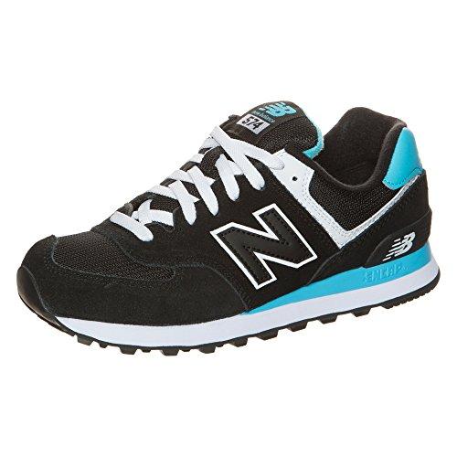 New Balance WL574-CPA-B Sneaker Damen Schwarz / Hellblau