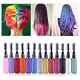 Ochine Hanyia Haare Färben Colorationen One-Time Temporary Hair Dye Dual-Headed Mascara Styling Cream Hair Color Pen Hair Tool (all)