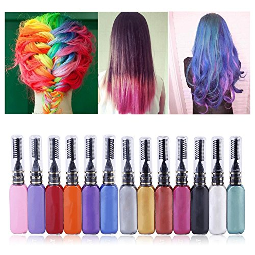 t One Time Temporäre Haarfarbe Creme (Violett Haar Spray)