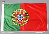 Bootsflagge Portugal 30 x 45 cm in Profiqualität Flagge Motorradflagge