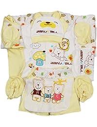 ddc58dcff8 Jinyouju Body per bambini 18 pz. in cotone, set abbigliamento essenziale  per neonati, corredino adorabile, set da…