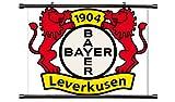 Bayer Leverkusen Futbal Club Bundesliga League Fabric Wall