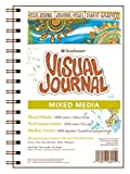 Strathmore Visual Journal Mixed Media Pergamentpapier 14 cm x 20,3 cm, 34 Blatt
