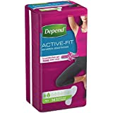 Depend Serviette Active Fit Femme Mini x 14 - Pack de 6