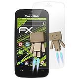 atFolix Displayschutz für Technisat TechniPhone 4 Spiegelfolie - FX-Mirror Folie mit Spiegeleffekt