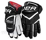 Bauer Vapor X600 Handschuhe Senior, Größe:15 Zoll;Farbe:schwarz/weiß