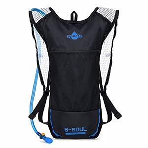 51UjwSe4qOL. SS300 VBIGER Sacca Idratazione Impermeabile Zaino per Ciclismo, Escursionismo, Corsa, Campeggio, Camminata
