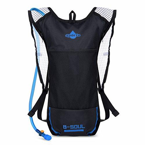 Imagen de vbiger  de hidratacion para trail running / bicicleta / ciclismo negro, 2l