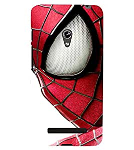 printtech Cool Spider Eye Back Case Cover for Asus Zenfone 5 / Asus Zenfone 5 A500CG