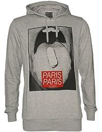 ELEVEN PARIS Designer Homme Hoodie Veste - CACHET HD -