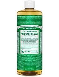Dr Bronner Organic Almond Castille savon liquide 946ml