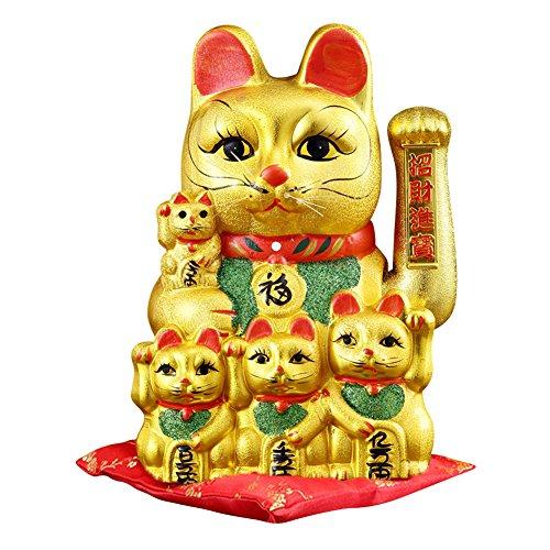 tune Cat Maneki Neko Japanische Porzellan Lucky Cat ()