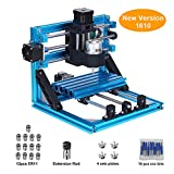 craftsman168 CNC Router 1610 GRBL Graviermaschine, 250 * 240 * 220mm, 110 V-240 V, 3 Achsen Mini Holz PCB PVC Fräsen Carving Machine + 10 stücke CNC Fräser + 4 Sätze CNC Platten