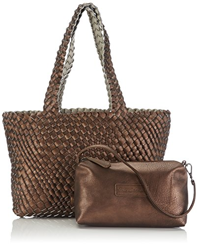 Fritzi aus Preussen Beatrix, Borsa shopper donna Marrone (Braun (Copper-Be))
