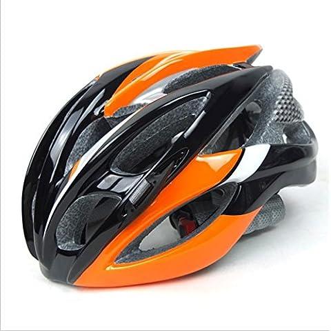 TKWMDZH® Neutral los hombres y las mujeres casco de bici de carretera para cabeza 52 ~ 62cm , orange