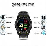 Bluetooth Smartwatch handy Uhr Fitness Tracker,Push Benachrichtigung,Sleep Monitor,HD Touch Screen,Pedometer,Anrufer Identifikation,Sport watch,Schlafanalyse,SMS Facebook Vibration für Android/huawei/sony/apple