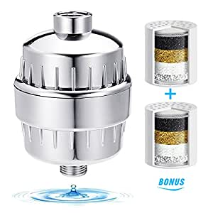 shower filter tapcet 10 stage shower water filter with 2. Black Bedroom Furniture Sets. Home Design Ideas