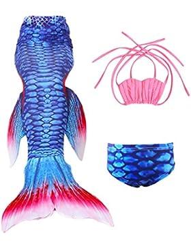 Le SSara Ragazze Mermaid cosplay costume costumi da bagno sirena shell costume da bagno