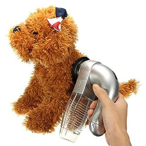 BILUN Pet Hair Fur Cleaner Cat Dog Pet Hair Fur Remover Grooming Brush Comb Vacuum Cleaner Trimmer