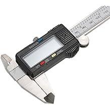 KKmoon 150mm (6 Pulgadas) Calibrador Digital Pie de Rey con Vernier LCD