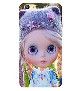 For Oppo A57 cute girl ( cute girl, beautiful girl, cartoon, girl ) Printed Designer Back Case Cover By CHAPLOOS