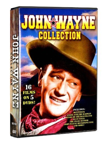 John Wayne Collection: McClintock, Angel and The Badman, Winds of the Wasteland, Blue Steel, The Trail Beyond, John Wayne Retrospective, and more! by John Wayne