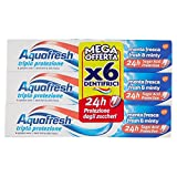 Aquafresh Dentifricio Tripla Protezione Menta Fresca - Pacco da 6 X 75...