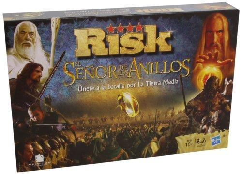 Hasbro Gaming Risk - El señor de los Anillos, juego de mesa