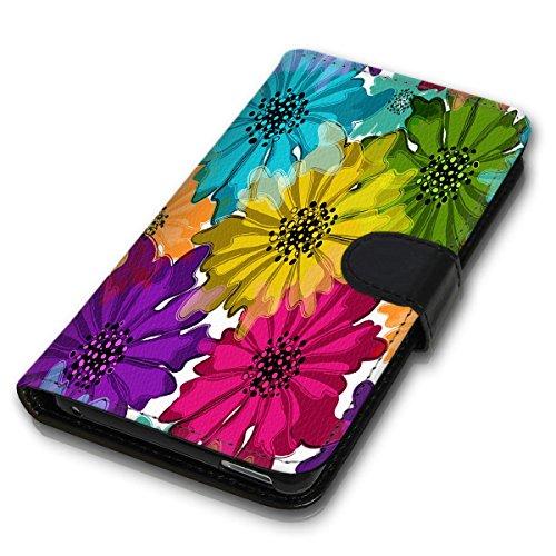Wallet Book Style Flip Handy Tasche Case Schutz Hülle Schale Motiv Etui für Apple iPhone 6 / 6S - Variante UMV2 Design12 Design 9