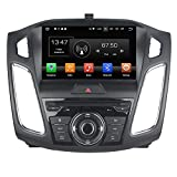 TAFFIO Ford Focus Autoradio Touchscreen Android Naviceiver CD DVD USB SD Wifi 3D GPS Navigation TV Bluetooth Freisprecheinrichtung